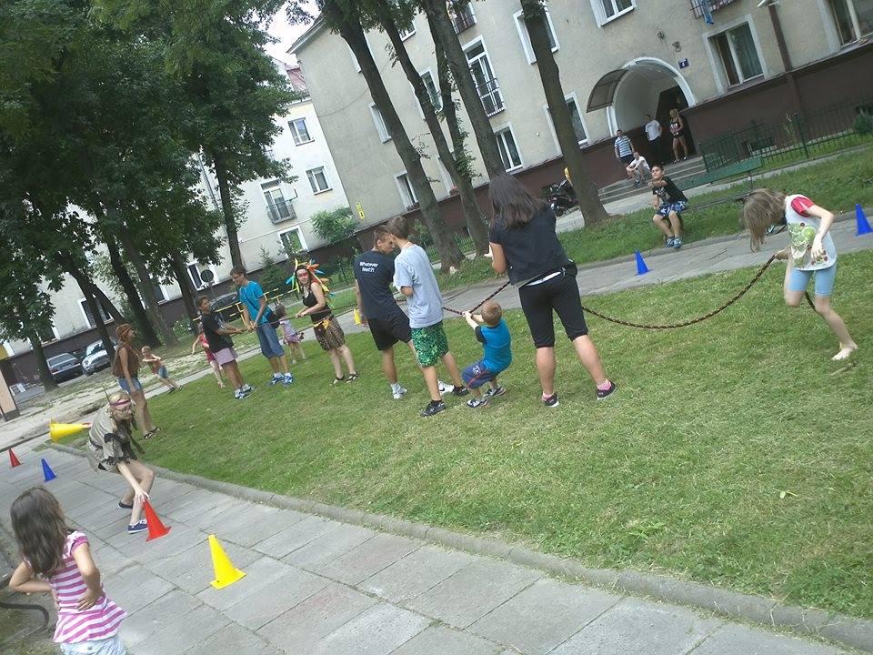 streetworking na osiedlu Młodości