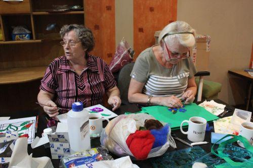Warsztaty artystyczne dla senirów
